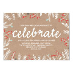 Berry Celeration Holiday Party Invitation