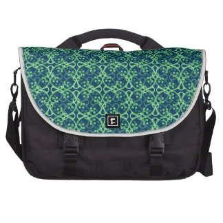 Berry Cluster Commuter Bag - Blue