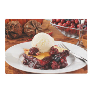 Berry Cobbler Ala Mode Placemat