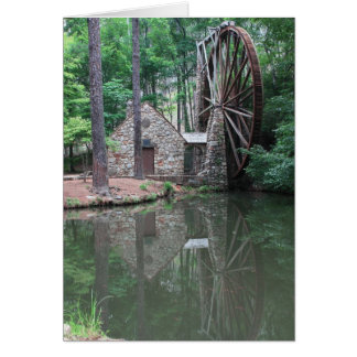 Berry College Water Wheel Stationery Note Card