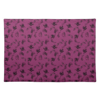 Berry Colored Sophisticated Ditzy Placemat
