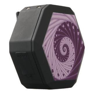 Berry Creme Purple Spiral Boombot REX Speakers Black Boombot Rex Bluetooth Speaker