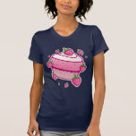 berry cupcake tee