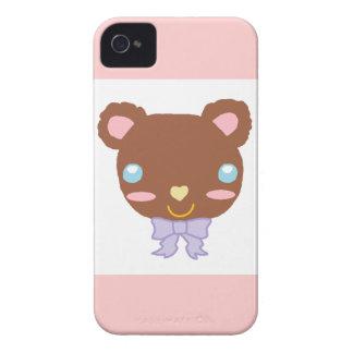 Berry Cute Bear iPhone 4 Case-Mate Cases