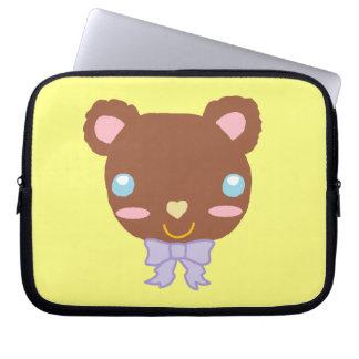 Berry Cute Bear Computer Sleeves