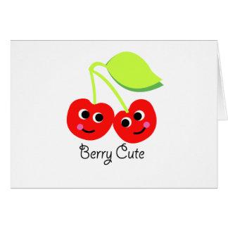 berry cute card