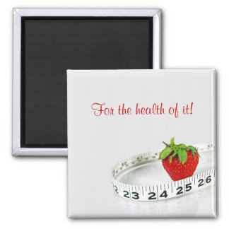 Berry Delicious 2 Inch Square Magnet