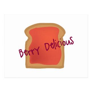 Berry Delicious Postcard