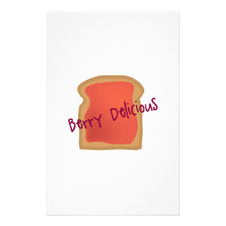 Berry Delicious Stationery