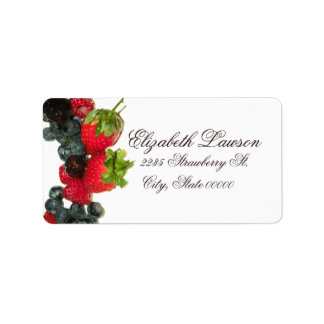 Berry Delight Address Label
