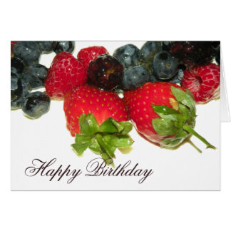 Berry Delight Happy Birthday Card