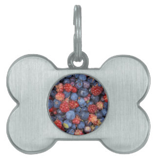 Berry Delight Pet Name Tag