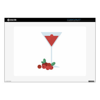 """Berry Drink Decal For 15"""" Laptop"""