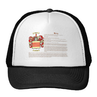Berry (English(meaning)) Mesh Hats