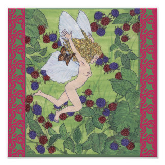 Berry Fairy Poster