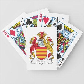 Berry Family Crest Bicycle Card Deck
