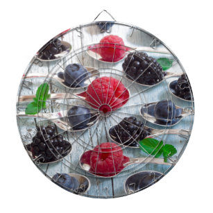 berry fruit dartboard