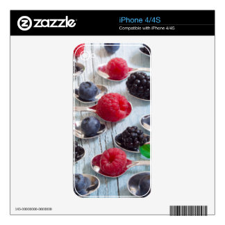 berry fruit iPhone 4S decals