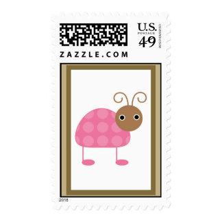 Berry Garden Lady Bug Stamp