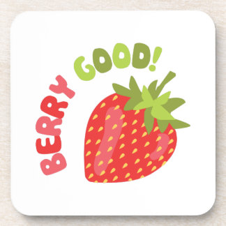 Berry Good! Drink Coaster