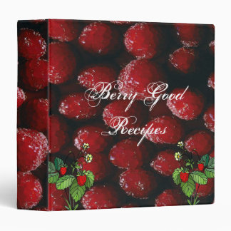 Berry Good Recipes Binder