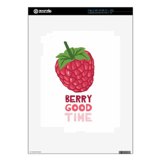 Berry Good Time Decal For The iPad 2