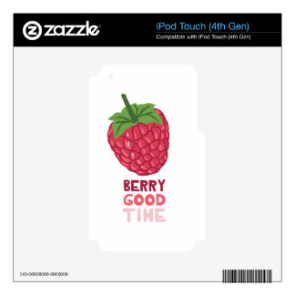Berry Good Time iPod Touch 4G Decal