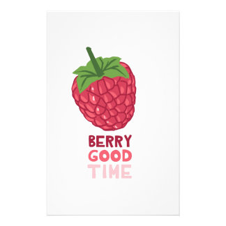 Berry Good Time Stationery
