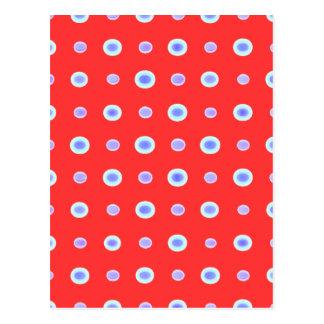 Berry Hand Made Polka Dance Postcard
