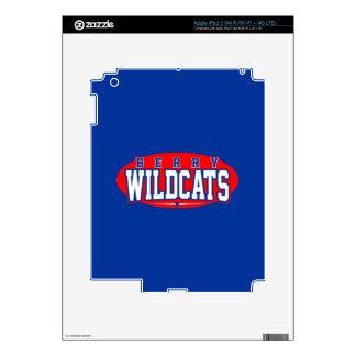 Berry High School; Wildcats iPad 3 Skins