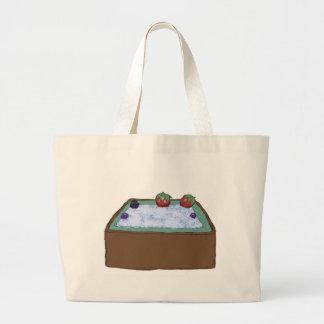 Berry Hot Tub Tote Bag