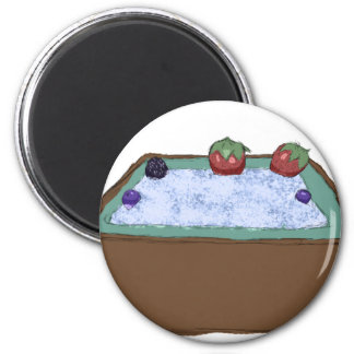 Berry Hot Tub Refrigerator Magnets