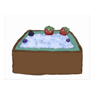 Berry Hot Tub Postcard