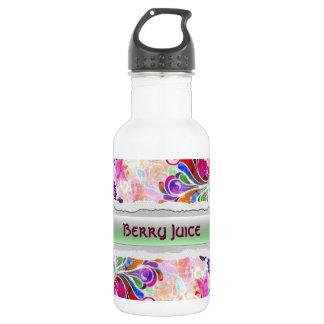 Berry Juice Custom Label Bottle