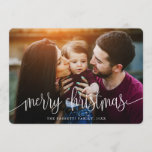 "Berry Merry Christmas Photo Card<br><div class=""desc"">Send stylish greetings this holiday season with these elegant,  modern-styled photo cards.</div>"