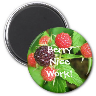 Berry Nice Magnet! 2 Inch Round Magnet
