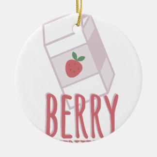 Berry Nutritious Ceramic Ornament