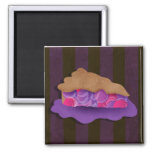 Berry Pie Mousepad 2 Inch Square Magnet