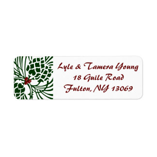 Berry-Pine Address Labels