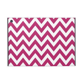 Berry Pink Chevron Zigzag Pattern iPad Mini Case