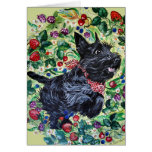 Berry Scottish Terrier! Greeting Card