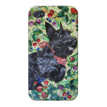 Berry Scottish Terrier! iPhone 4 Cases