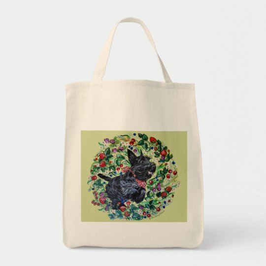 Berry Scottish Terrier! Tote Bag