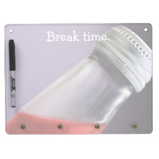 Berry Soda Dry Erase Board With Keychain Holder