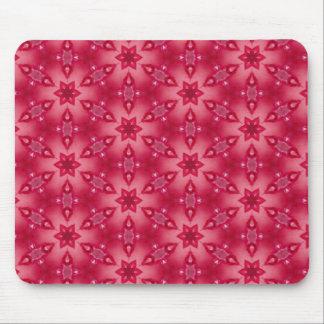 Berry Sparkle Bursts Mouse Pad