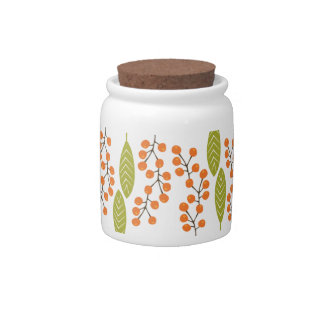 Berry Sprigs Candy Jar