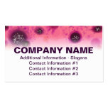 Berry Stains Business Card Template Top