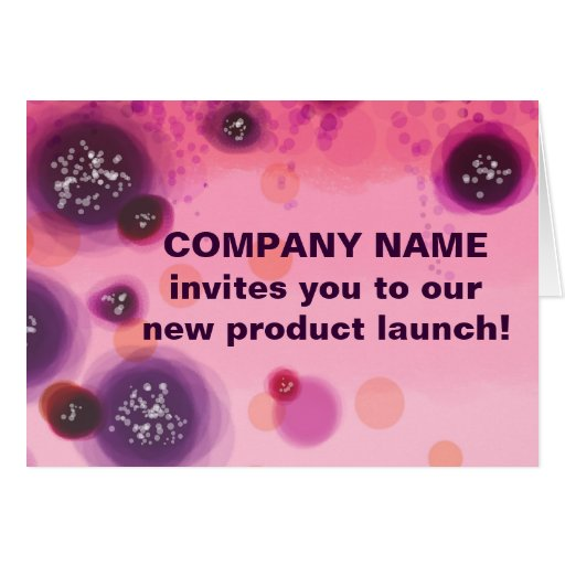 Berry Stains Company Note Cards