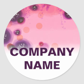 Berry Stains Corporate Stickers