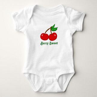 Berry Sweet Cherry Baby Bodysuit